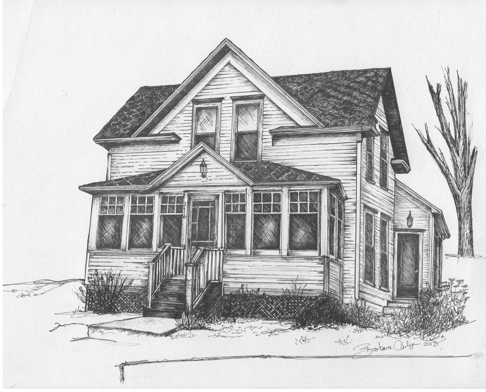 Pen Amp Ink Homes Barbara Carlson